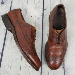 FLORSHEIM | wingtip oxford lace-up dress shoes